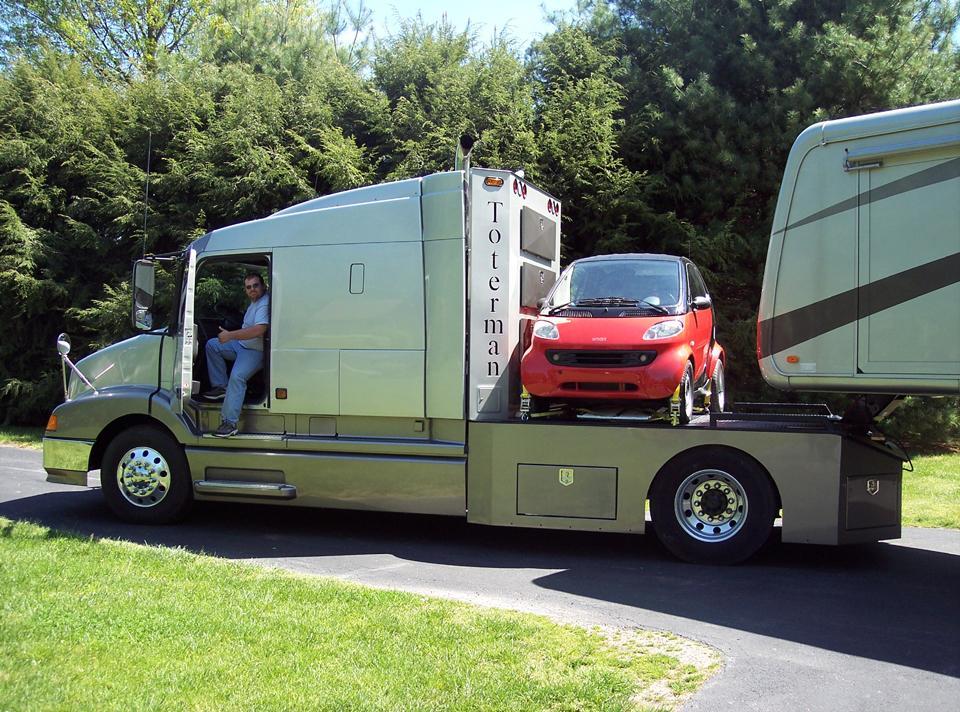 Pin Semi Truck Rv Conversion Toy Hauler on Pinterest